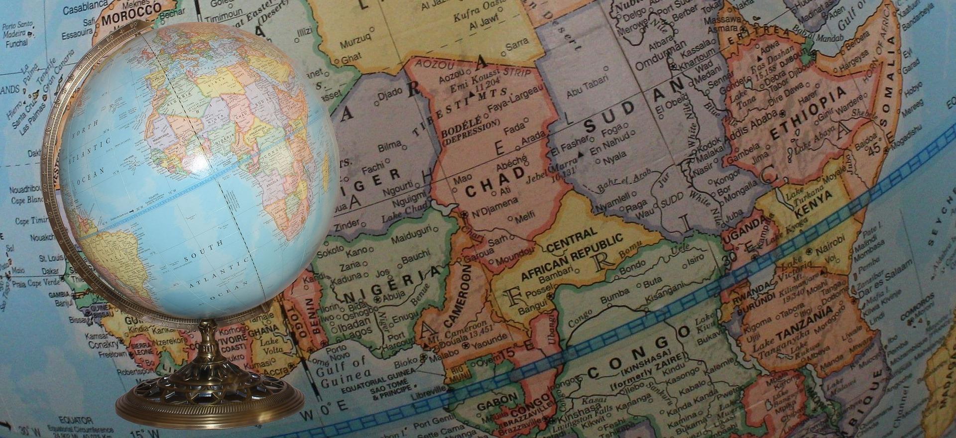 Africa Map II – Pixabay