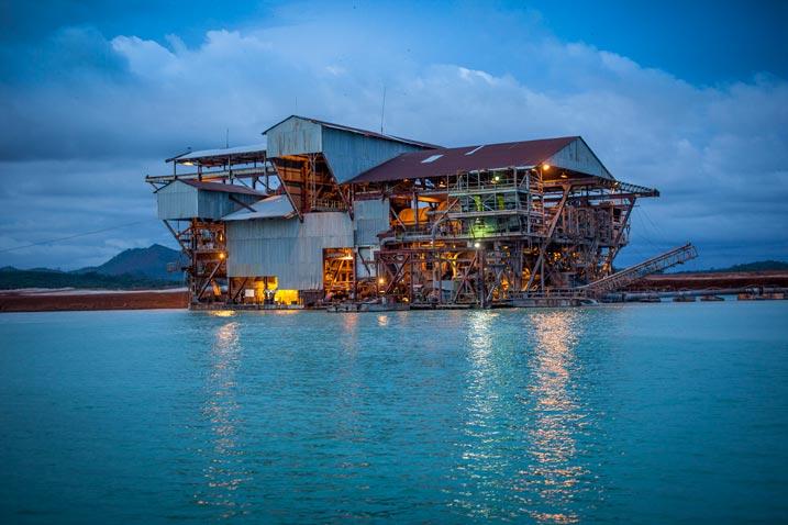 Sierra Rutile – Mining