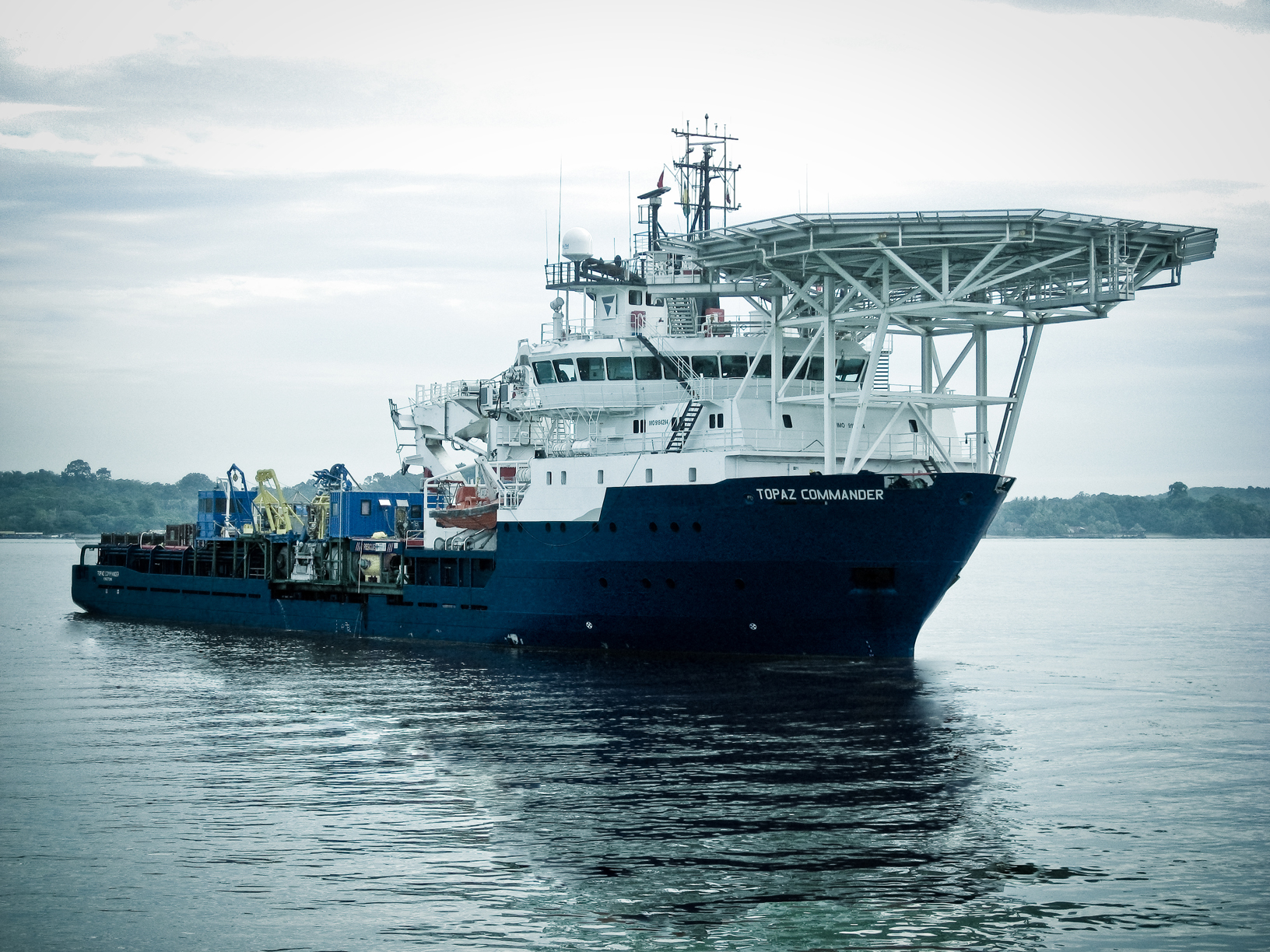 P&O Maritime – Oil Services Ship